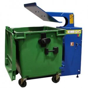 Jäätmepress konteinerile MACFAB 1100LTR