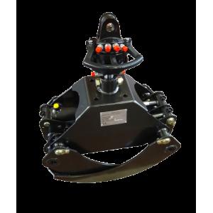 Black Splitter S2 haarats koos rotaatoriga ekskavaatorile 1-6T