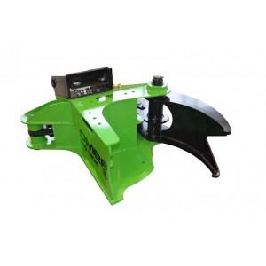 O.ME.F.® BI300 haarats lõikur 300mm ekskavaatorile 5-12T