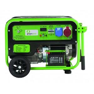 Generaator Greengear GE-6000T LPG/Propaan