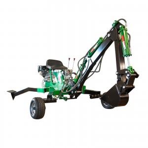 Miniekskavaator 9 hj mootoriga