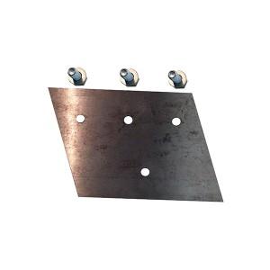 Puiduhakkuri WC68 Bed Plate KIT