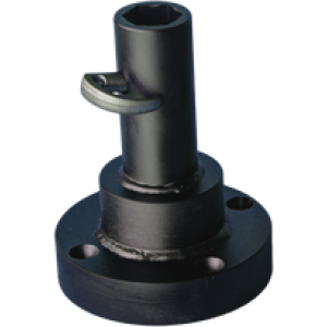 Black Splitter Pinnasepuuri Adapter Hex SW 41 Socket