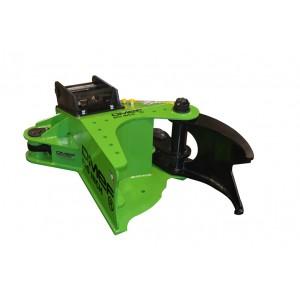 O.ME.F.® BI200 haarats lõikur 200mm ekskavaatorile 3-8 T