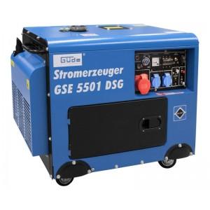Elektrigeneraator Güde GSE 5501 diiselmootoriga 5000W